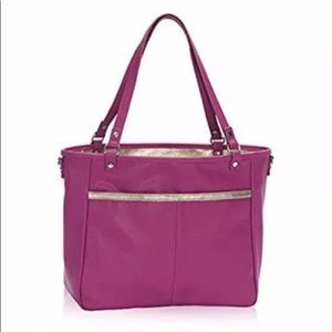 Thirty-One Jewell Townsfair reversible Tote